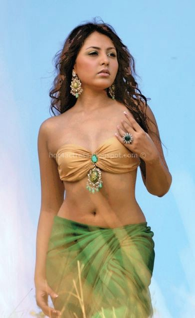 Madhu Shalini Hot Slim Navel Pictures