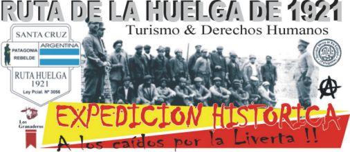 RUTA DE LA HUELGA DE 1921