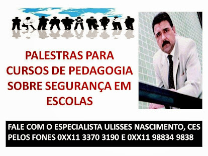 PALESTRAS COM ESPECIALISTA