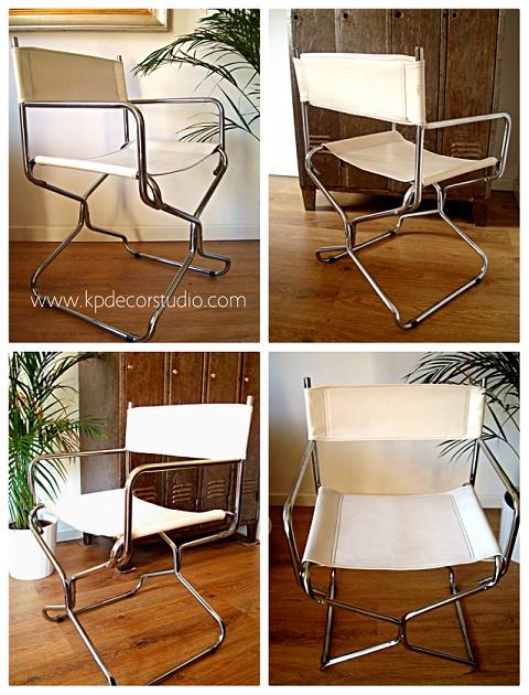 Kp tienda vintage online silla de director vintage de los for Sillas diseno madrid