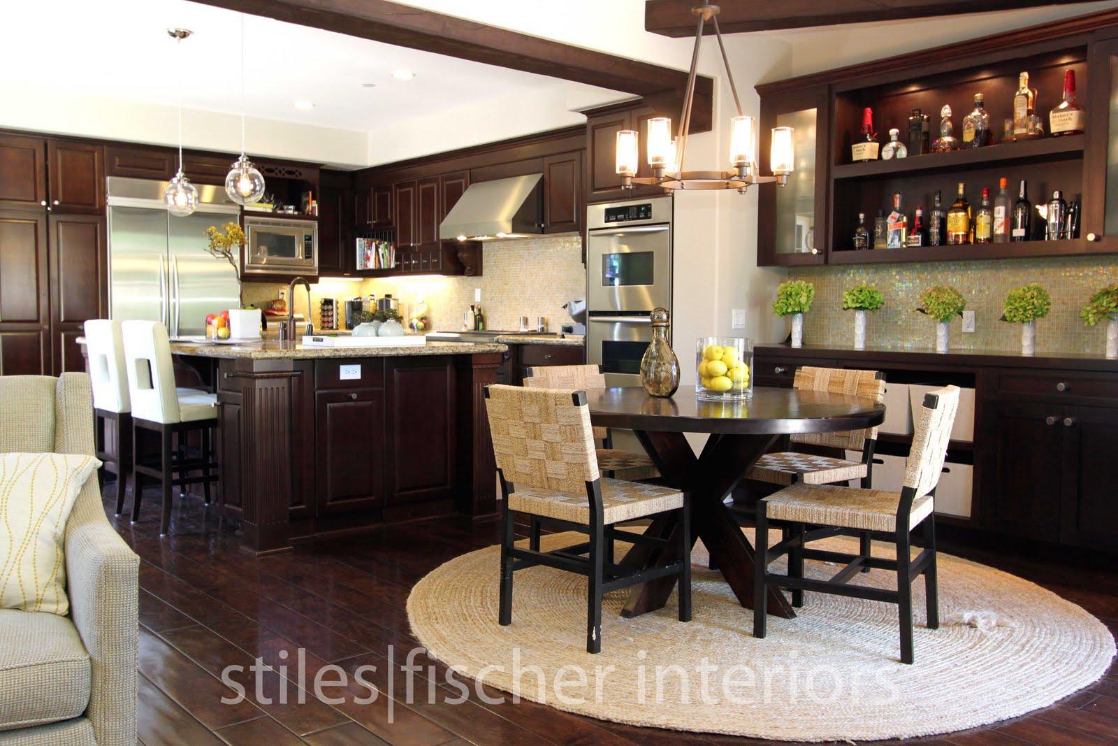 Stiles fischer interior design before and after ladera for Elegant kitchen designs