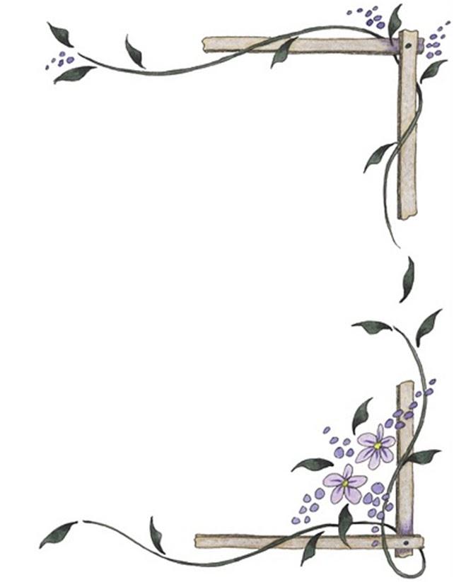 Bordes para hojas de word gratis - Imagui