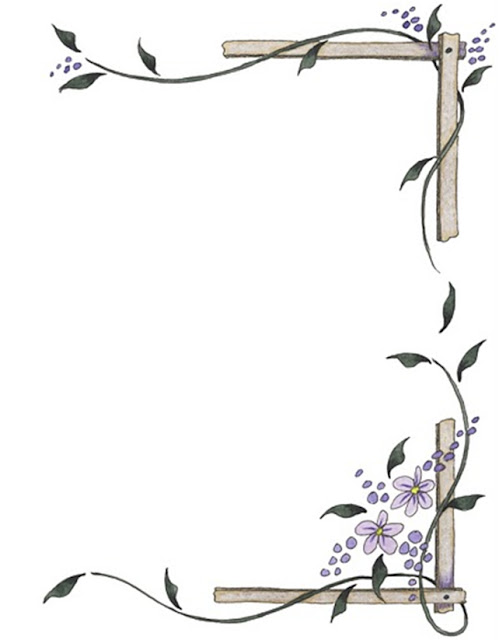 bordes de pagina, bordes de hojas, bordes decorativos, bordes para ...