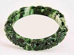 Genuine jade bangle