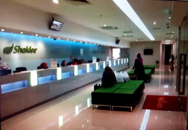 ofis baru shaklee