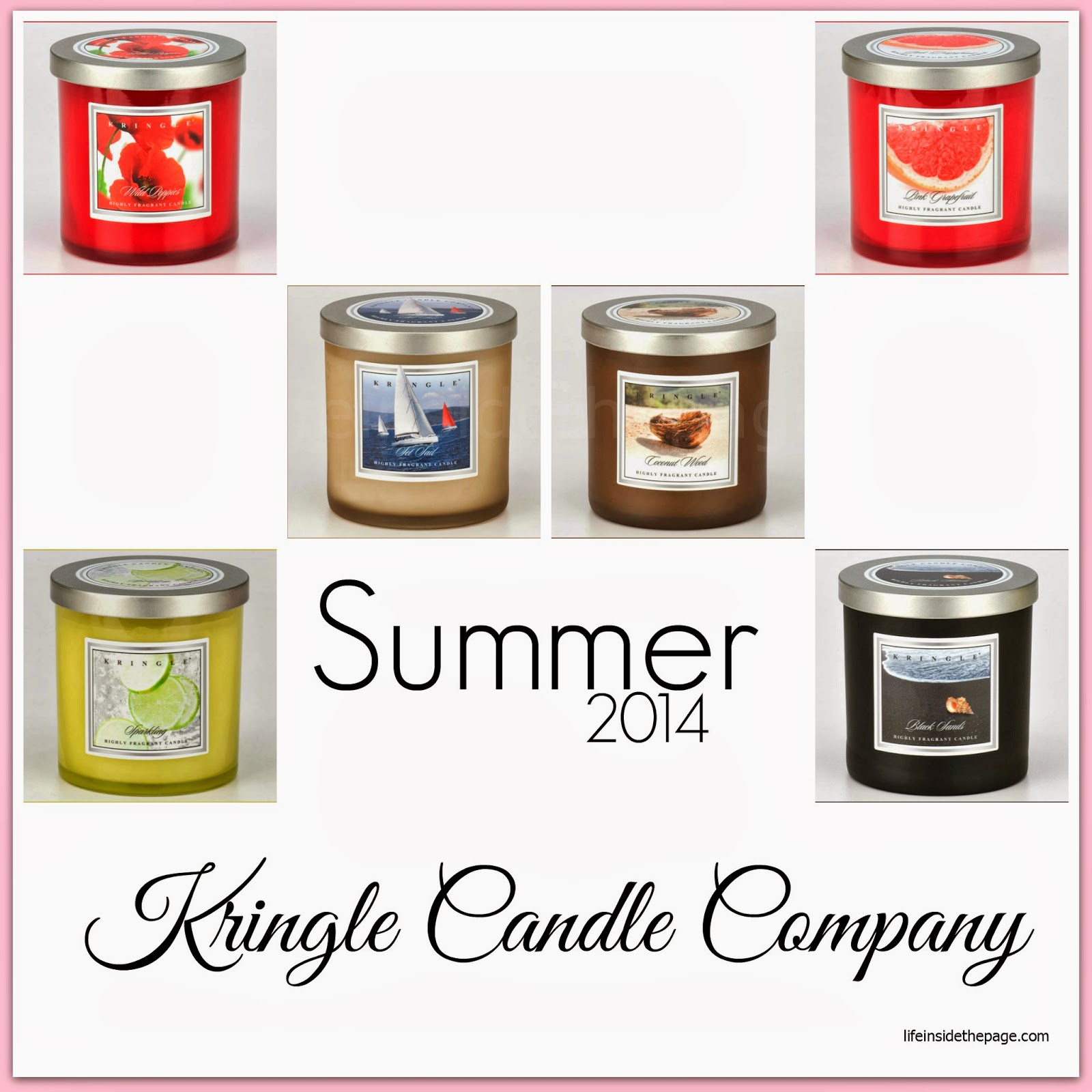 Kringle Candle | Summer 2014 | New Scents and Notes
