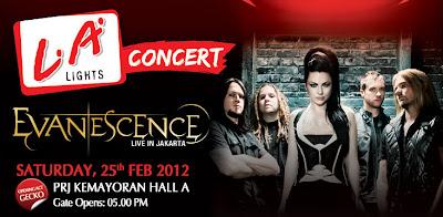Evanescence Concert Jakarta 2012