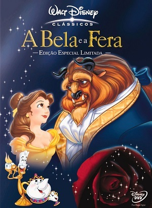 A Bela e a Fera - Animação Filmes Torrent Download capa