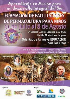 Fromacion de facilitadores de Permacultura para niños