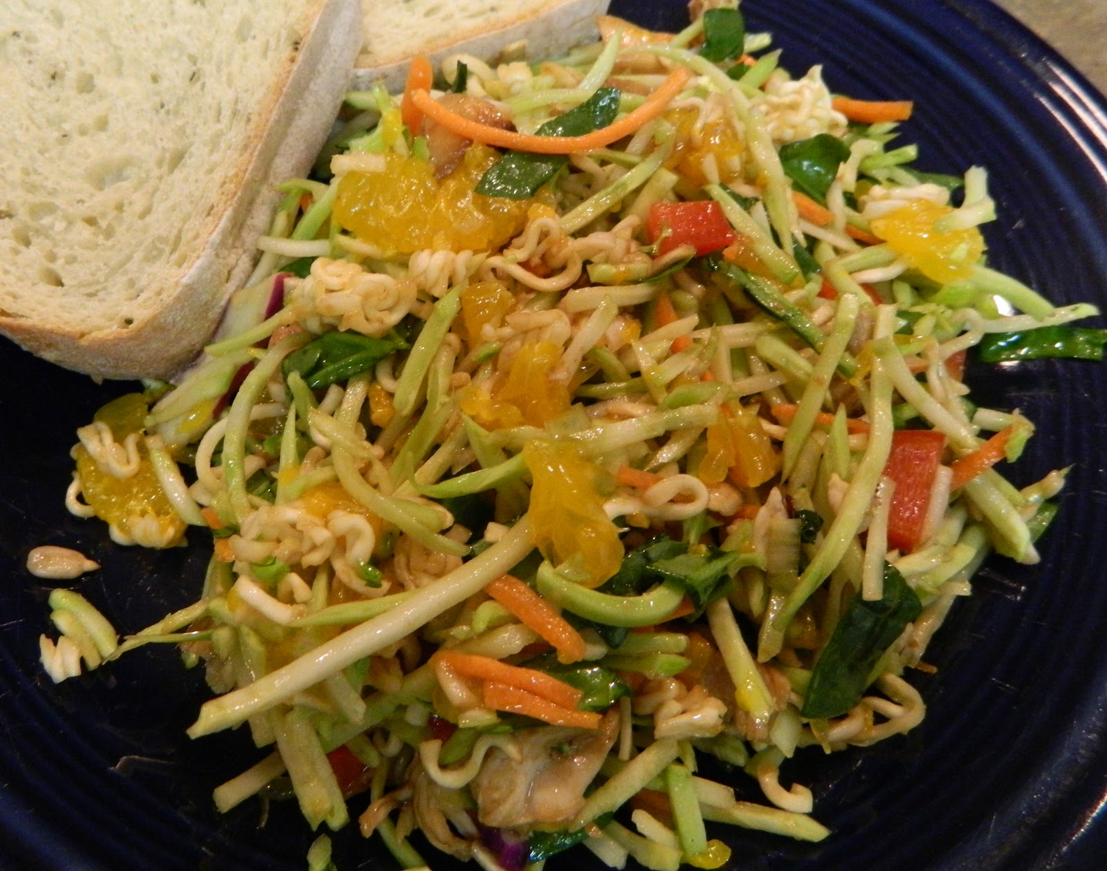 Baking with Love: Crunchy Asian Chicken Salad