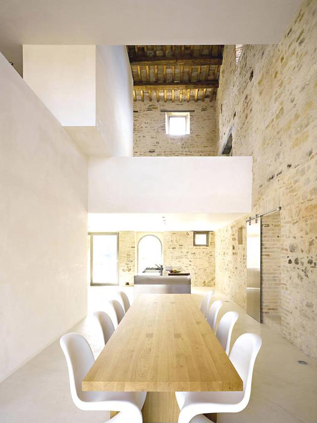 Modern Italian Farmhouse Modern Design By