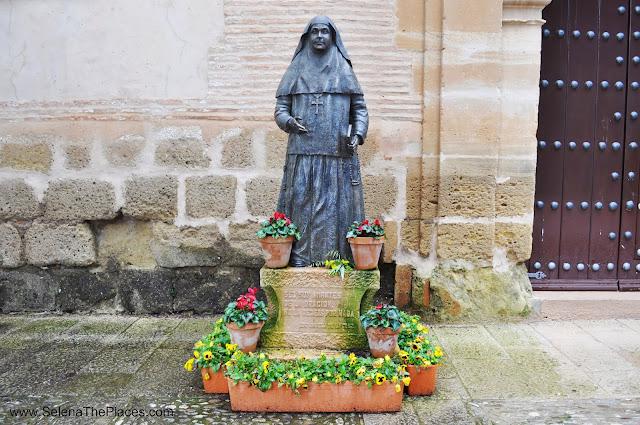 Statue Ronda Spain