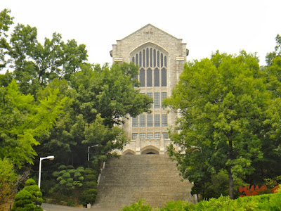 The church of Ewha University Seoul