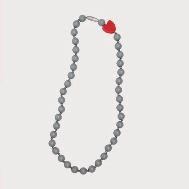 Bijtketting Twiggy Grey