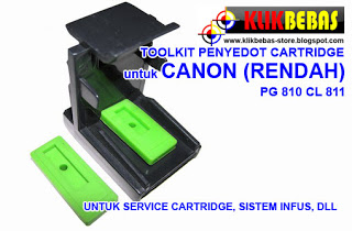 Toolkit alat service penyedot cartridge
