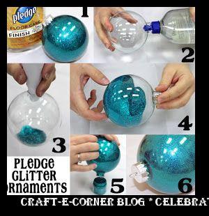 0ec52049f1b6 sandals shop online india Craft-e-Corner Blog   Celebrate Your Creativity   So-Easy 6 Step Pledge Glitter Ornaments Winter ...