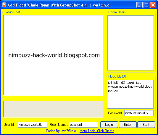 How To Hack Nimbuzz Chat Room