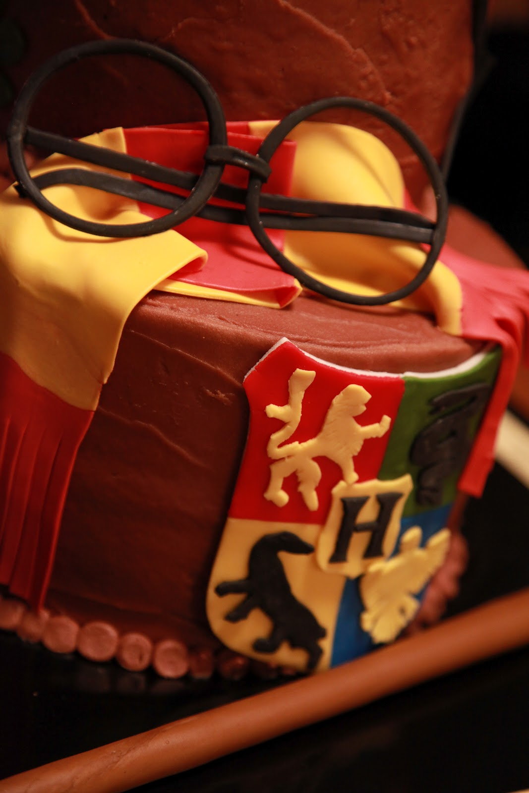 the cake box girls: Harry Potter birthday cake