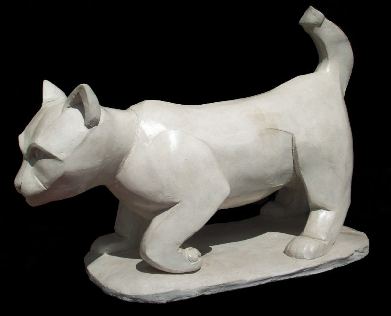 Mariole chat de gouttière