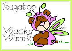 Bugaboo Wacky Wednesday Challege #17 Winner