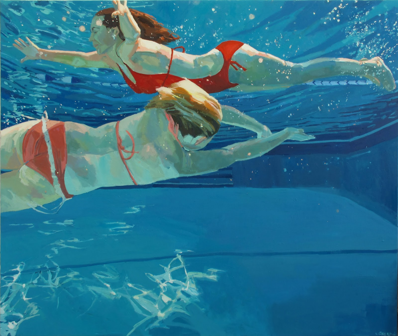 Samantha French: Sea Change: Paintings From 2012