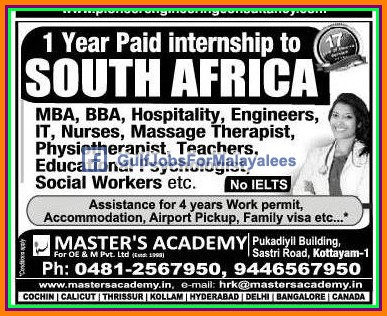 Find employment opportunities in South Africa - Job ad posting site for work in South Africa for foreigners, Americans. South Africa jobs for expats, English speakers.