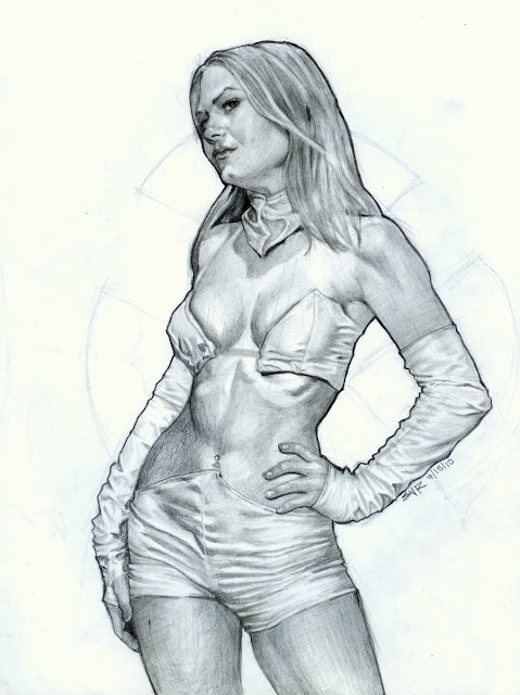 Emma Frost Character Review (Black White Picture)