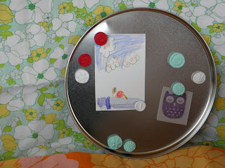 Tutorial for button magnets made from polymer clay!
