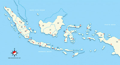 Indonesia Map 33 Maps Of Indonesia Provinces Peta Indonesia