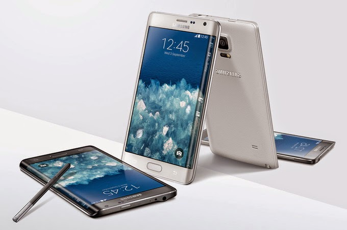 Harga Smartphone Samsung Galaxy Note Edge android kamera depan 7mp