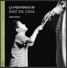 LA IMPORTANCIA DE LEER EN CASA