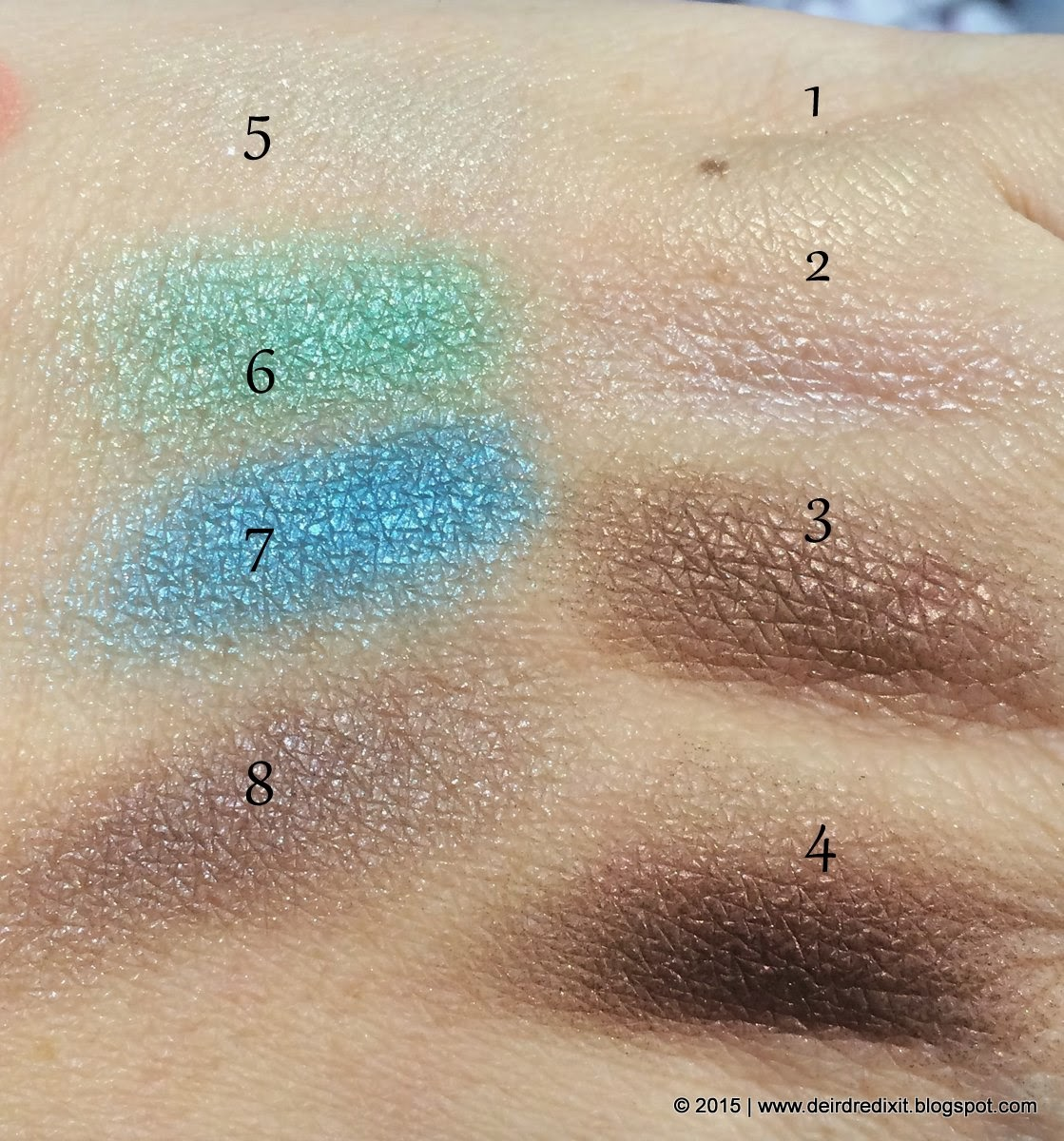 Swatch Kiko Generation Next Cool Touch Eyeshadow