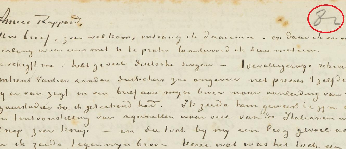 Van Gogh Letter 267