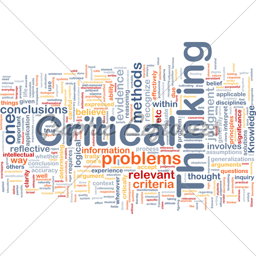 what is your concept of critical thinking