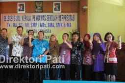Inilah Guru Kepala Pengawas SMA/SMK/MA Berprestasi di Pati