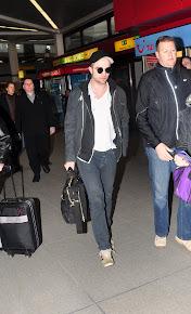 Robert en el aeropuerto dejando Berlin