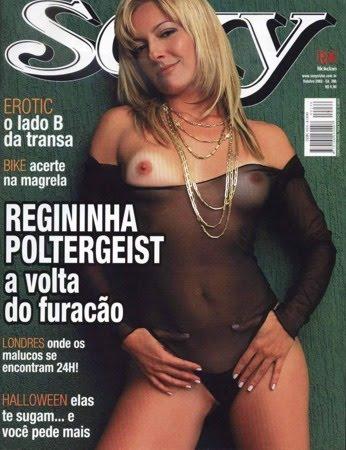 Regininha Poltergeist nua