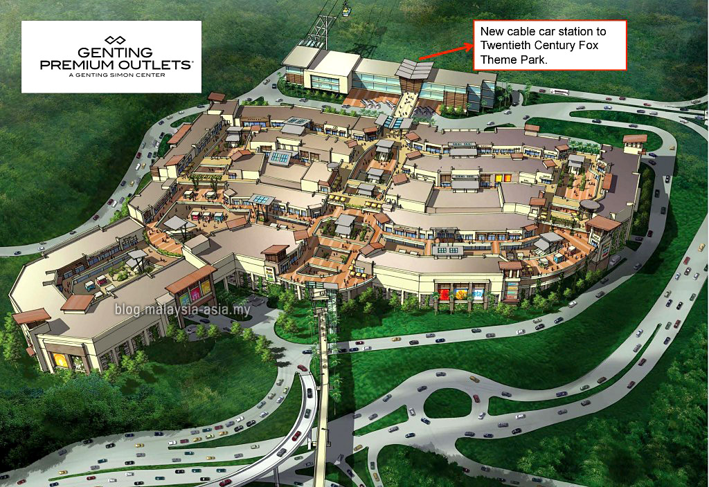 genting premium outlets gpo malaysia asia