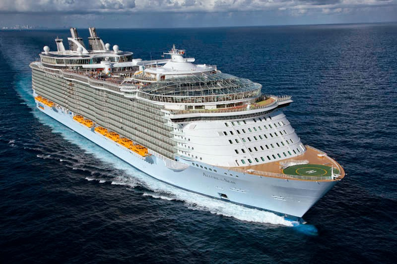 Leenks  Top 10 Largest Cruise Ships In The World