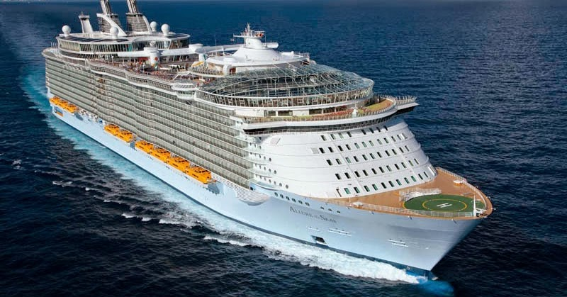 Top 10 Largest Cruise Ships In The World 2015  Sincesunrise