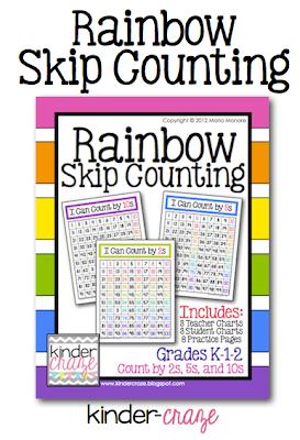 Rainbow Skip Counting, $4