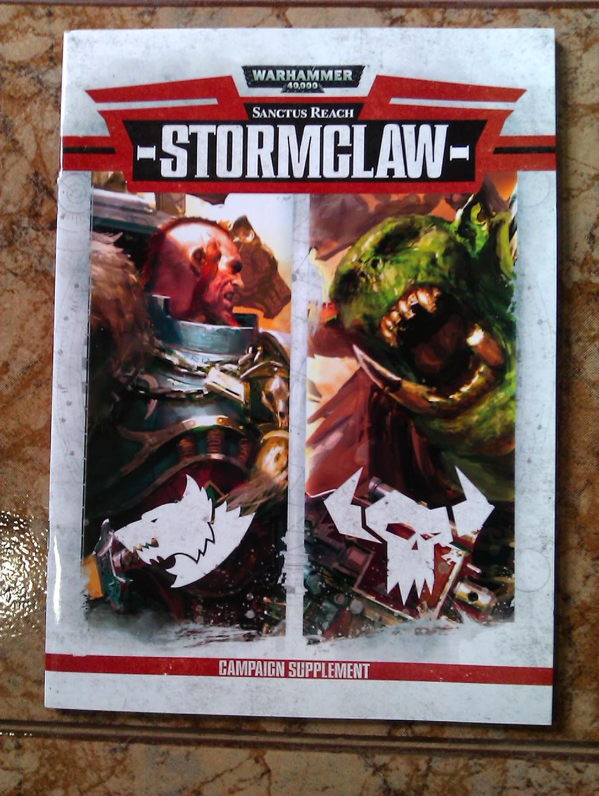 La caja de Stormclaw constituye la segunda parte de la campaña de Sanctus Reach