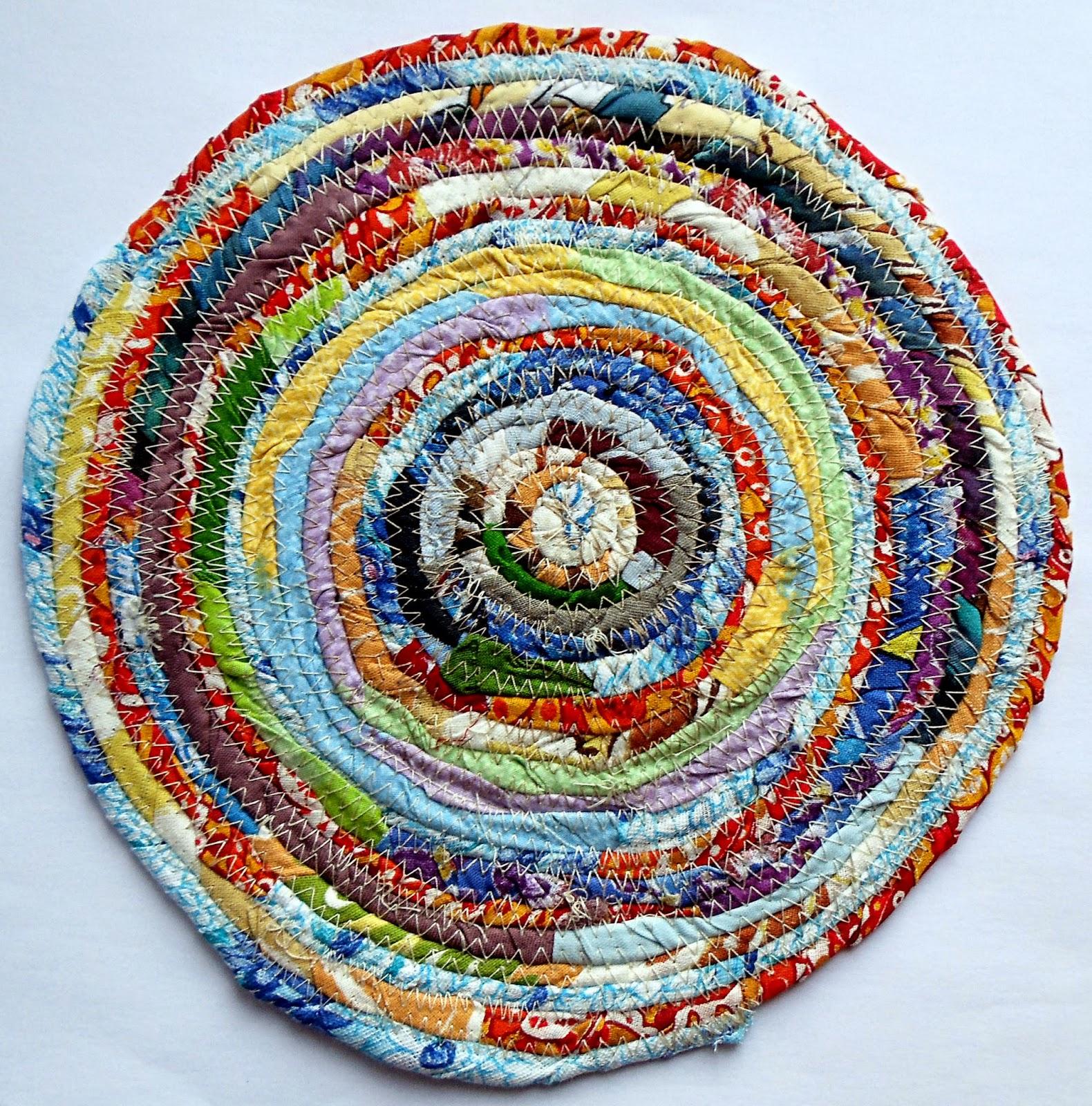 Плетеные коврики из ткани своими руками