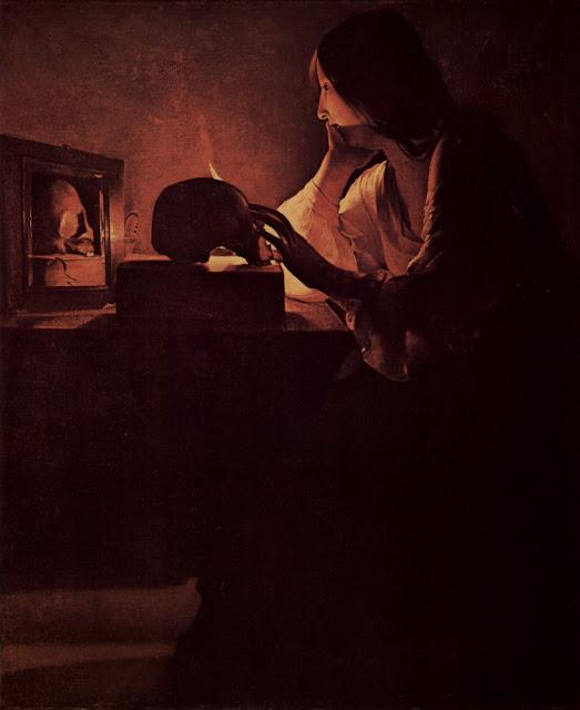 Mary Magdalene,georges de la tour, 5 stars