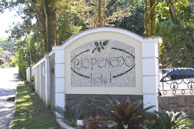 ENTRADA DO HOTEL RIO PENEDO!