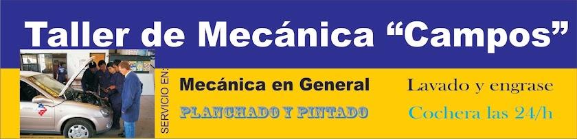 Mecánica Campos. Servicios Generales