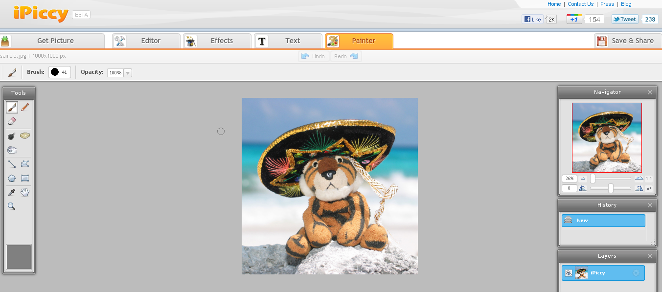 Photo Editing Software - Photo Editor for Online Mac & PC