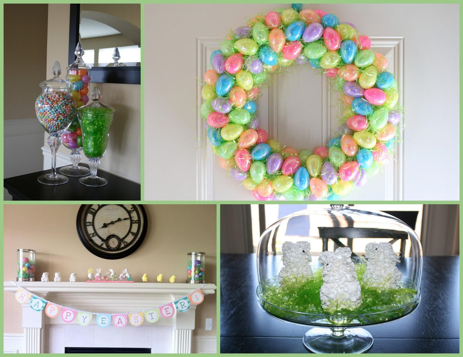 Munch Ado About Nothing 28 Spring And Easter Mantel Decor