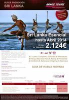 Sri Lanka y Bali con precios hasta Marzo/Abril 2014.