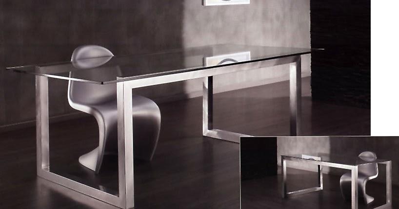 Muebles de oficina por la decoradora experta cristal y for Muebles oficina cristal